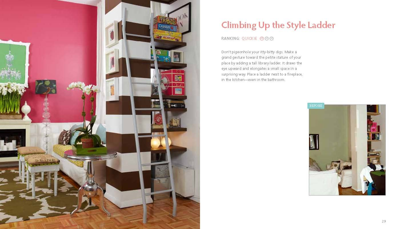 living in a nutshell posh and portable decorating ideas for small