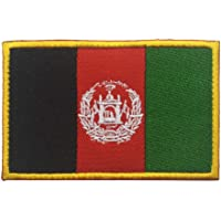ShowPlus Flag Patch Military Embroidered Tactical Patch (Afghanistan)