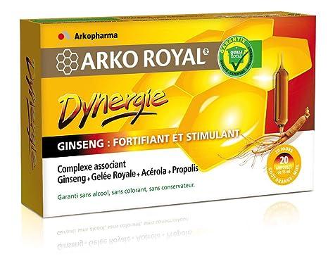 Arkopharma Arko Real dynergie 20 bombillas: Amazon.es: Salud ...