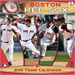 2011 Boston Red Sox Calendar Perfect Timing Turner 9781436064521