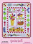 Garden Quilt Patterns; Full Size Patterns, Full Size Placement Sheets, & Instructions, for a 52.5 inch by 64.5 inch Quilt