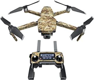 product image for Coyote Camo Decal Kit for DJI Mavic 2/Zoom Drone - Includes 1 x Drone/Battery Skin + Controller Skin