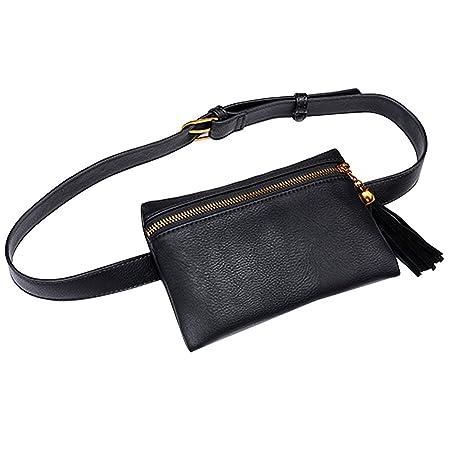 Amazon.com: Buddy Fanny - Bolsa de cintura para mujer ...
