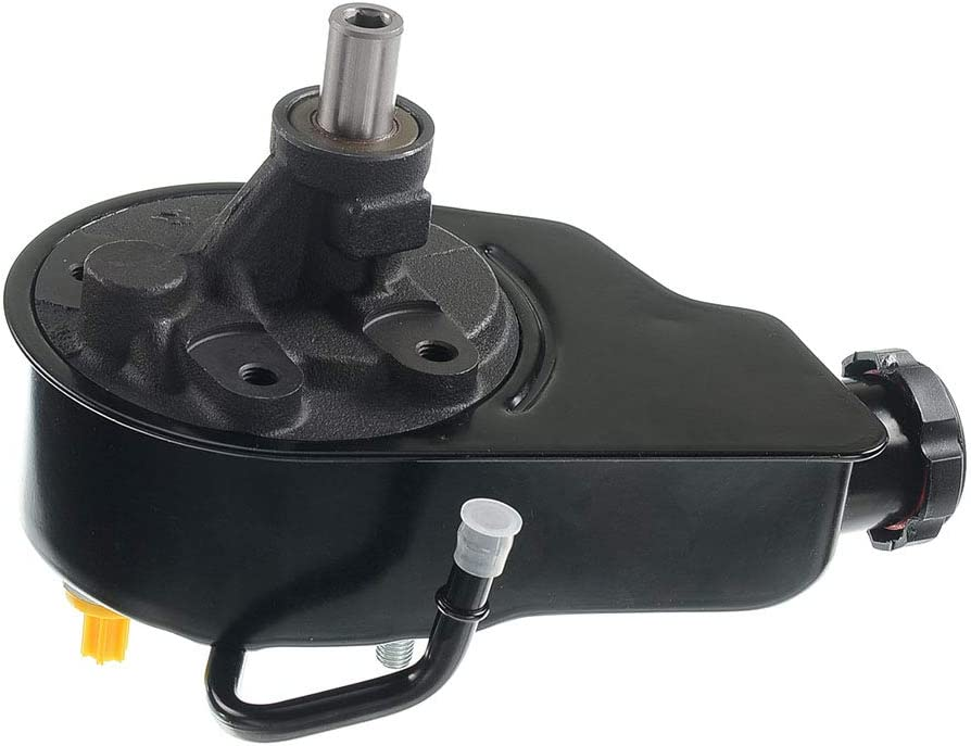 Power Steering Pump Assembly Compatible with Chevrolet Tahoe GMC Yukon C//K1500 2500 3500 Suburban