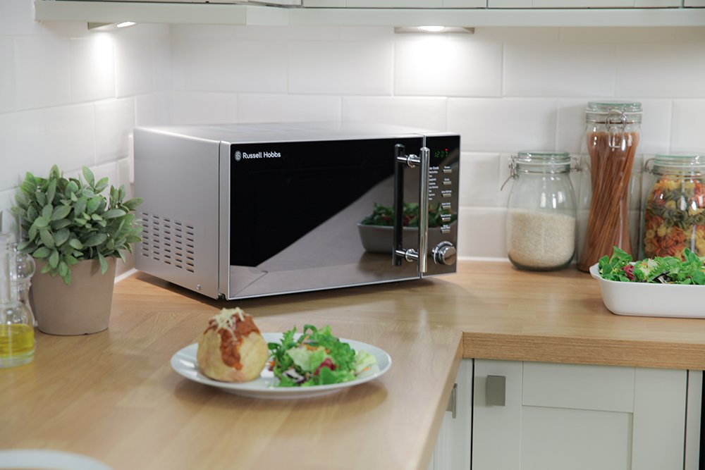Russell Hobbs RHM2017 20L Silver Digital Microwave: Amazon.co.uk: Kitchen U0026  Home