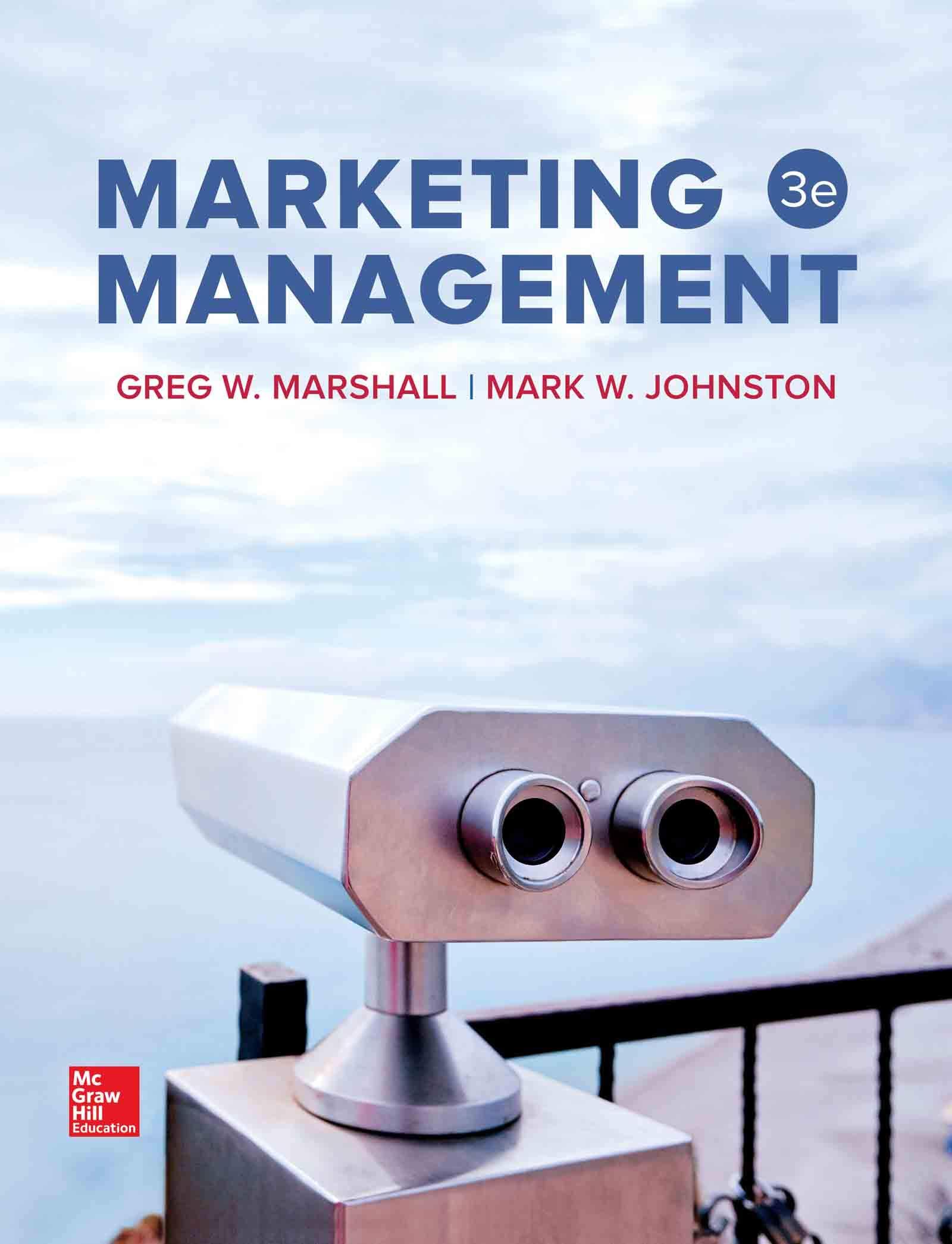 Amazon Com Marketing Management Ebook Marshall Greg Kindle Store