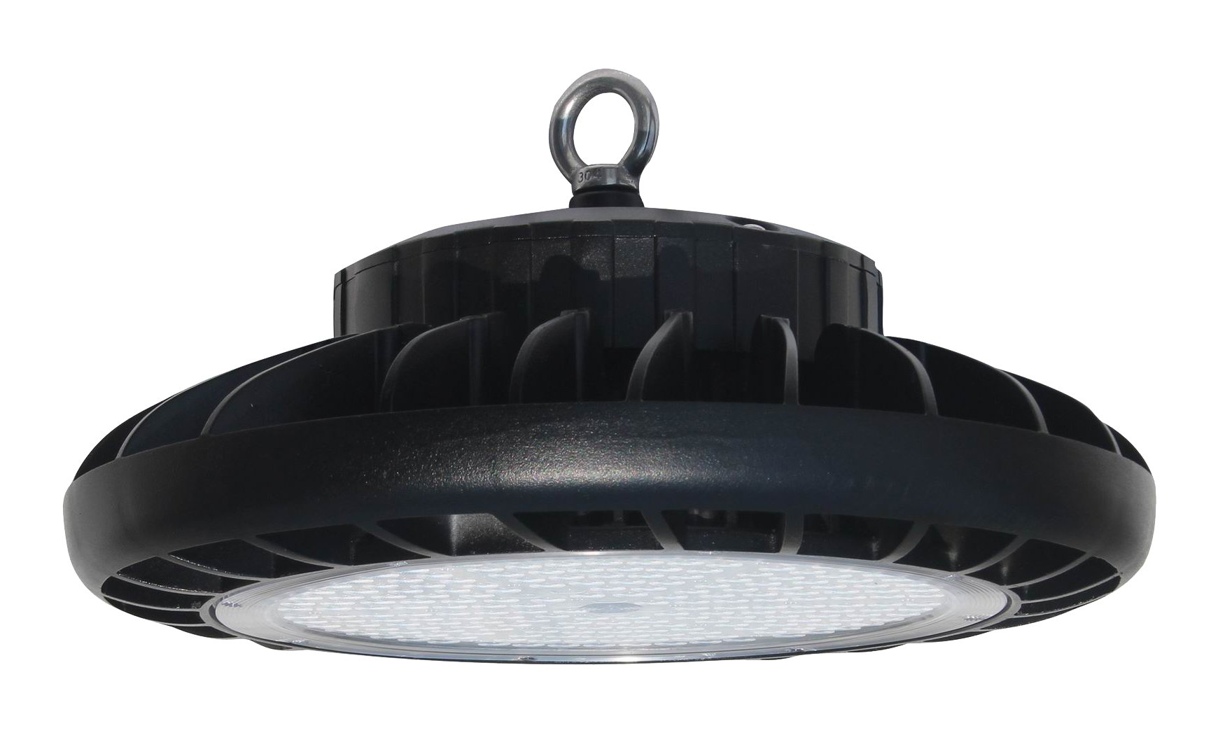UFO 100W Round LED High Bay Light UL cUL DLC (5000 Kelvin) 5 Year Warranty - Great for Shops, Warehouses and Buildings With Tall Ceilings by Cost Less Lighting