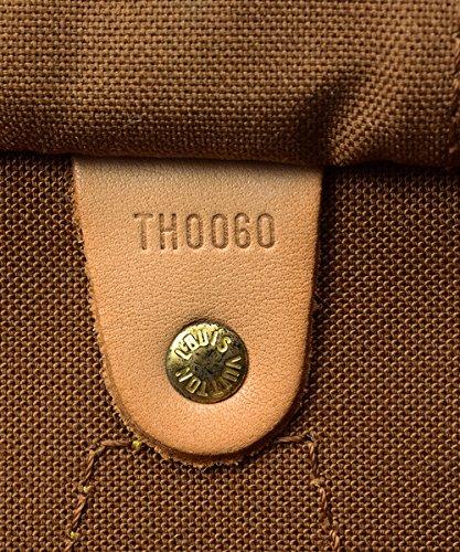 Authentic Women's Vintage Louis Vuitton Speedy 30 Brown Monogram Travel Bag by Louis Vuitton (Image #6)