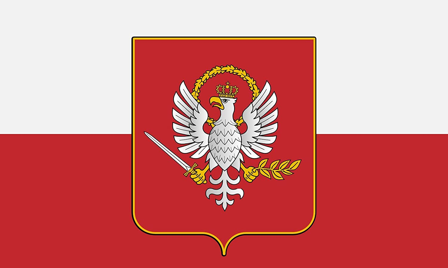 Amazon.com : magFlags Large Flag Poland ALT | Alt Flag of Poland by Ziegen  | Landscape Flag | 1.35m² | 14.5sqft | 90x150cm | 3x5ft - 100% Made in  Germany - Long Lasting Outdoor Flag : Garden & Outdoor