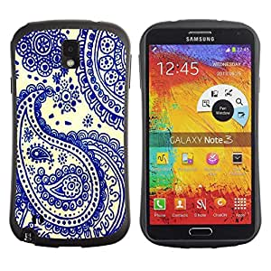 Paccase / Suave TPU GEL Caso Carcasa de Protección Funda para - Blue China India Cards Poker - Samsung Note 3 N9000 N9002 N9005