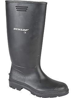 Dunlop - Stivali di gomma da uomo con gambale alto f3cd730ee22