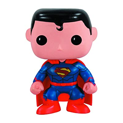 Funko The New 52 Version Pop Heroes Superman Vinyl Figure: Toys & Games