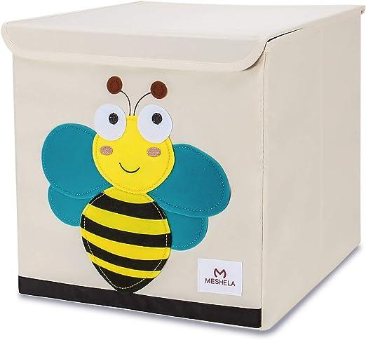 Meshela Caja de almacenamiento para niños, gran capacidad ...