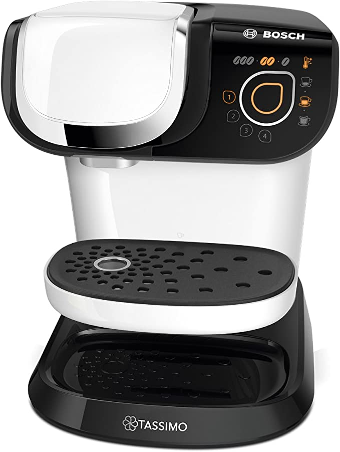 Bosch TAS6004 Tassimo My Way Cafetera de cápsulas,1500 W, color blanco: Amazon.es: Hogar