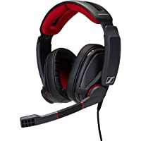 Sennheiser GSP 350 Gaming Headset, Black, Red (507081)