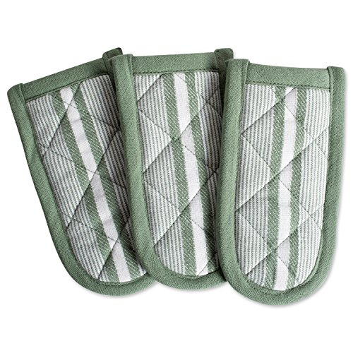 DII 100% Cotton, Machine Washable, Chef Stripe Quilted Pan H
