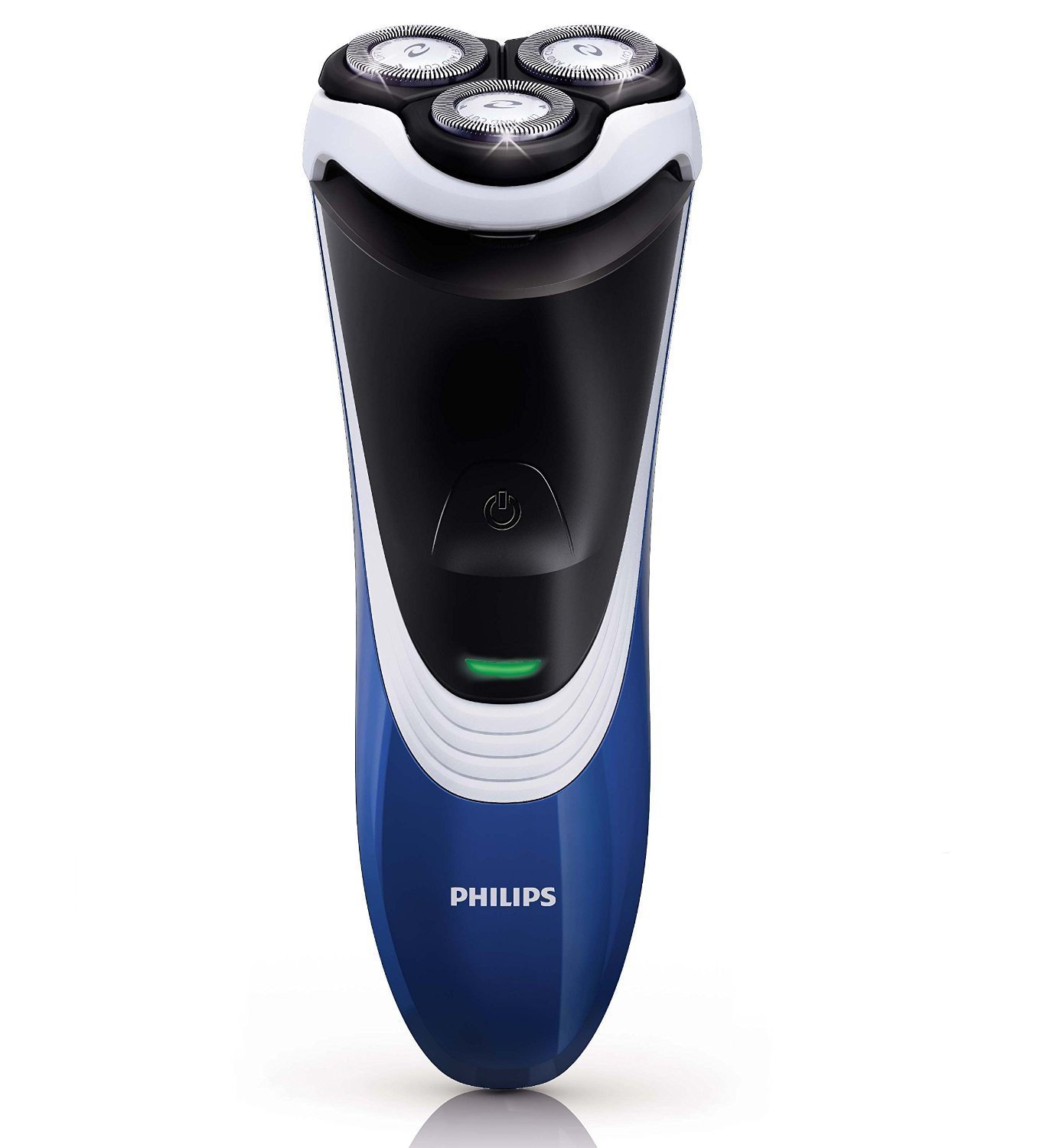 Philips Norelco Cordless/Corded Electric Razor, with CloseCut Flexing and Floating Heads and Durable Self-Sharpening Blades, with Convenient Pop-Up Trimmer, Includes Charge and Low Battery Indicator