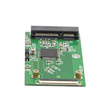 Mini PCI-E mSATA SSD a Tarjeta de Adaptador ZIF de 40 Pines para ...