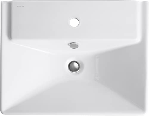 KOHLER K-5027-1-96 R ve 23 Bathroom Sink, Biscuit