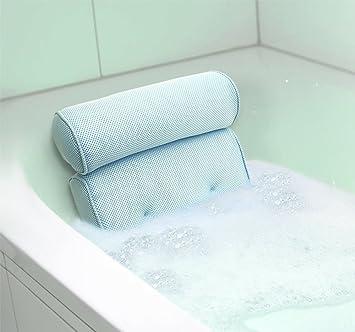 Amazon.com: Home Spa Bath Pillow Bathtub Hot Tub Neck Back Rest ...