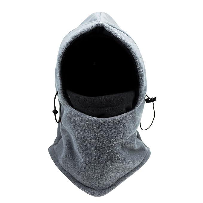 Unisex Cappello Invernale Passamontagna Cappello Beanie Cappelli Berretti  Inverni, cappello con orecchie per addensare caldo della copertura del  fronte ...