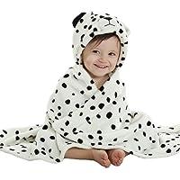 Queenshiny® Ultra suave con capucha manta de playa Baby Kids Boys Girls