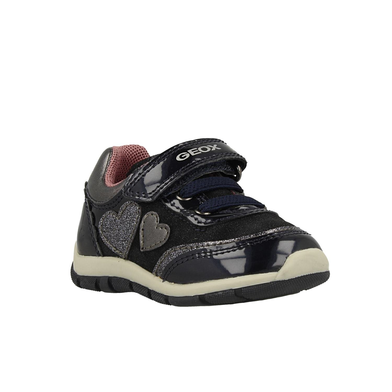 Geox B Shaax B, Sneakers Basses bébé Fille