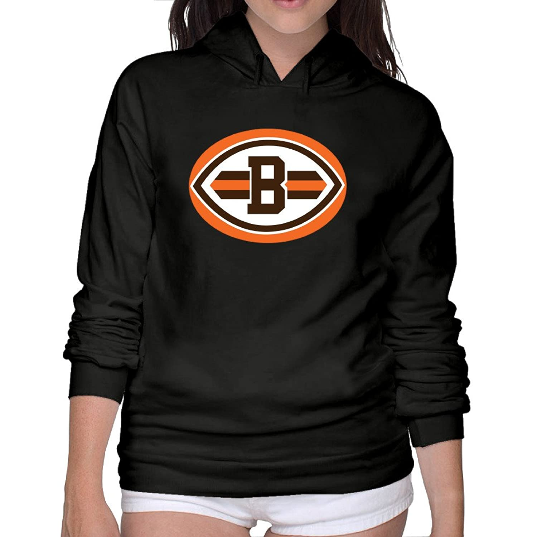 quality design 3a49c 5d42e new Football Cleveland-browns-logo Women Cool Hoodies ...