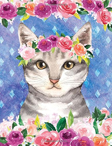Download My Big Fat Bullet Journal For Cat Lovers Tabby In Flowers: Jumbo Sized Graph Design Bullet Notebook Journal - 300 Plus Numbered Pages With 300 Graph ... X 11 Size (Jumbo Graph Journal 2) (Volume 1) pdf epub