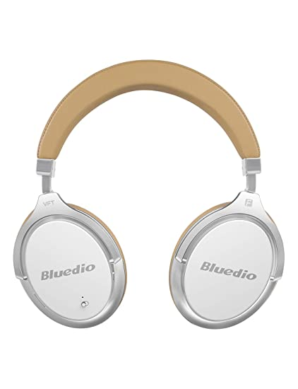 7949d117552 Amazon.com: Bluedio Bluetooth Headphones Over Ear, Active Noise Cancelling  Over-Ear Headphones F2 Wireless Bluetooth Headsets with Mic (White):  Electronics