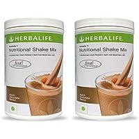 Herbalife Nutritional Shake Mix Formula 1 Dutch Chocolate, Pack of 2 (500g each)