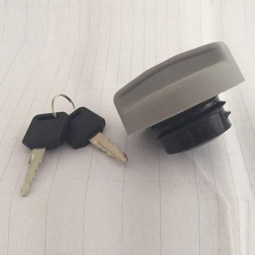 Lightleopard OEM Fuel Tank Filler Gas Cap Petrol Diesel Key for Vauxhall Opel Zafira Astra