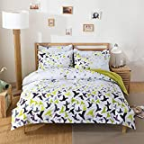 Fashion Design Kids Bedding Sets 4pcs Bed sheet Duvet Cover Pillow Cases Twin Full Queen Size (Full,