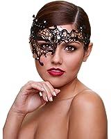 Baci Lingerie Femme séductrice Masque vénitien en métal