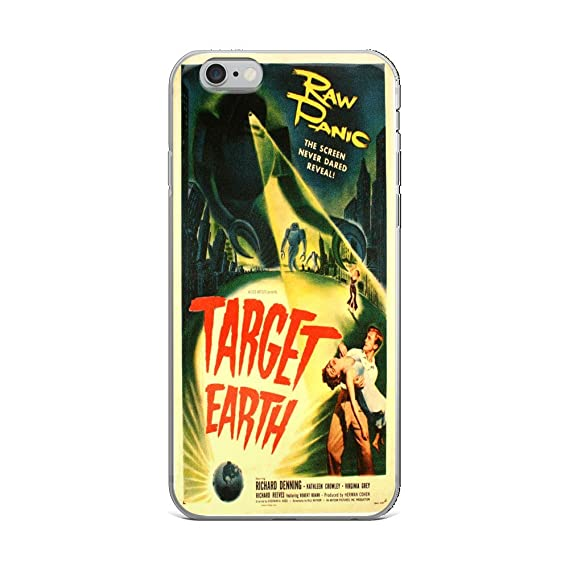 timeless design 22d52 443fe Amazon.com: Vintage poster - Target Earth 1207 - iPhone 6 Plus/6s ...