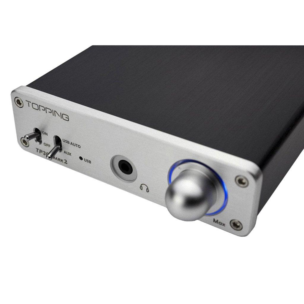 Topping TP30 Mark2 MK II USB DAC amplificador de auriculares: Amazon.es: Electrónica