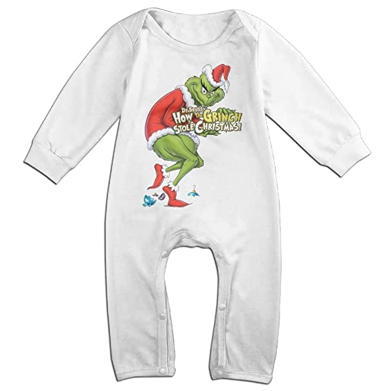 Amazon Com Noxidn Smwi Baby Infant Romper How The Grinch Stole