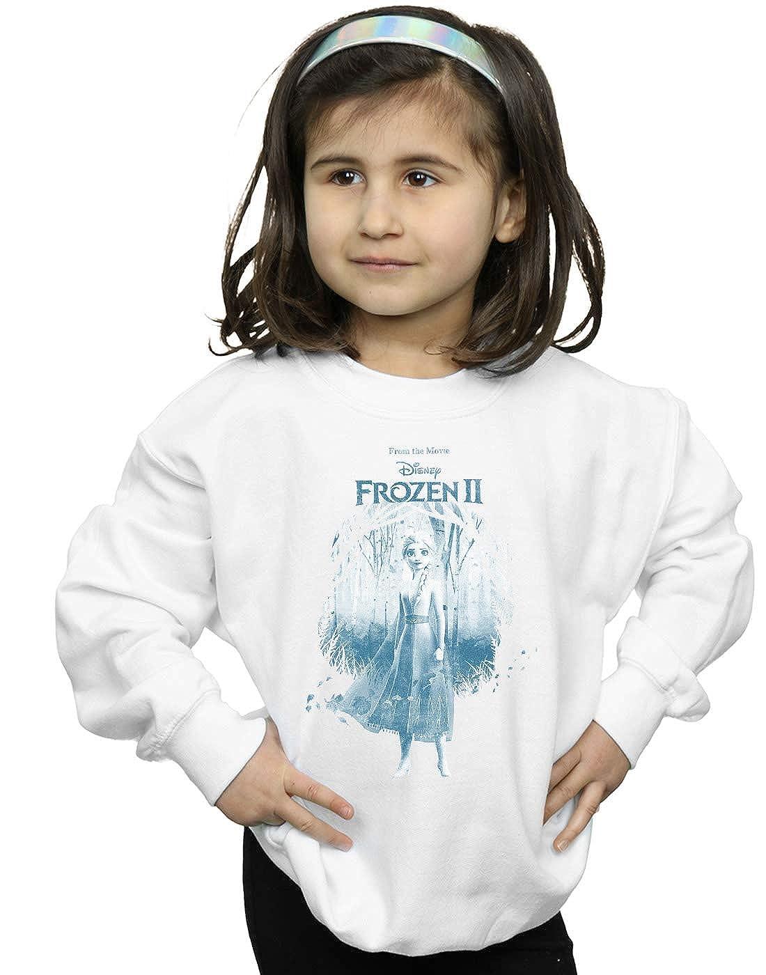 Disney Girls Frozen 2 Elsa Find The Way Sweatshirt