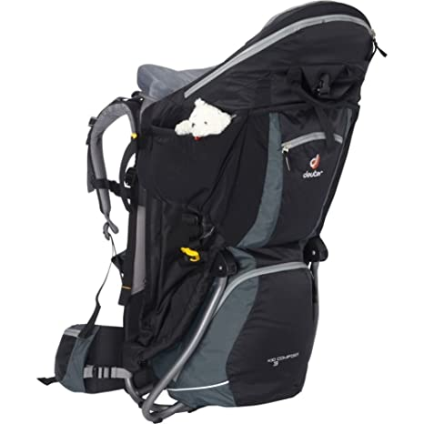 6702a4a20a5 Image Unavailable. Image not available for. Colour  Deuter Kid Comfort III  Framed Hiking Child Carrier ...