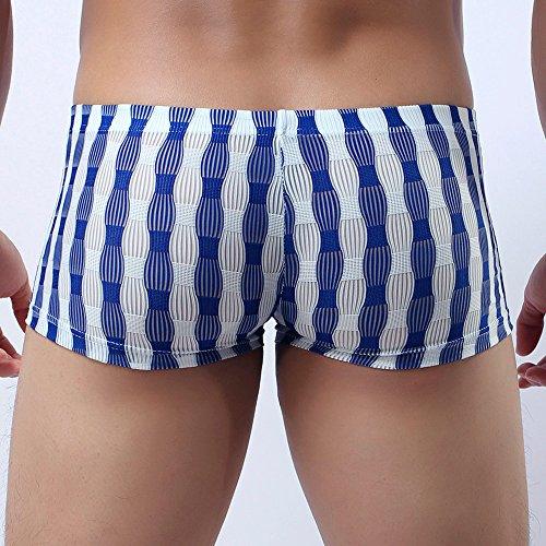 Sous Slip Respirant Shorts Bleu Boxers Culotte Trunk Caleçon Babyhome Homme Homebaby vêtements Par Ig6qq
