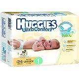 Huggies Ultraconfort, Unisex, Etapa 1, 192 Pañales