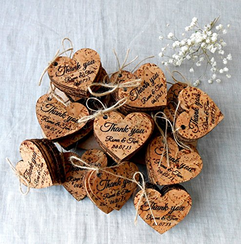 Wedding favor tags, rustic personalized favor tags, custom favor tags, vineyard, farm, barn, rustic wedding day tags- Set of 25 pieces