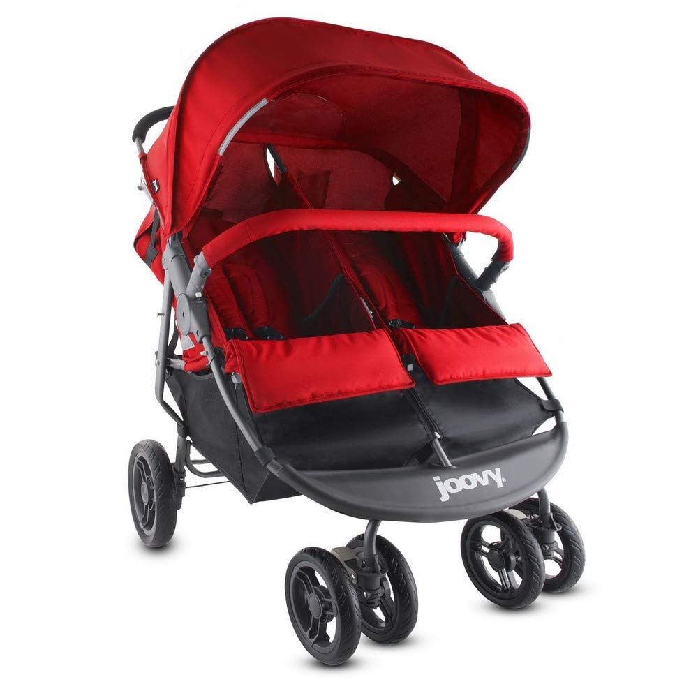 Joovy Scooter X2 Double Stroller, Red JOOD9 8071