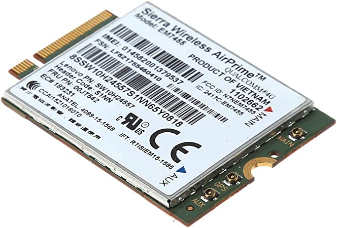 Yintiod Em7455 4g Lte Wwan Wireless Card Module Fru Computers Accessories