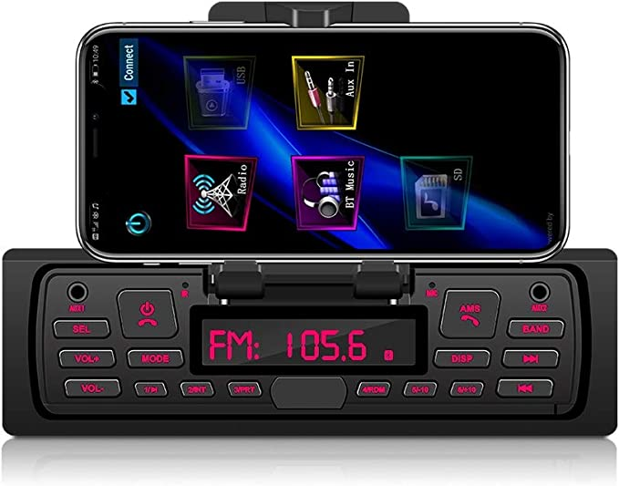 Bluetooth Freisprech Autoradio Podofo 1 Din Autoradio Elektronik