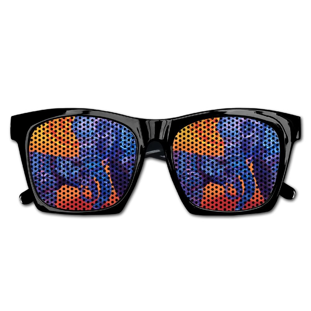 Elephant AN Themed Novelty India Elephant Affection Wedding Visual Mesh Sunglasses Fun Props Party Favors Gift Unisex
