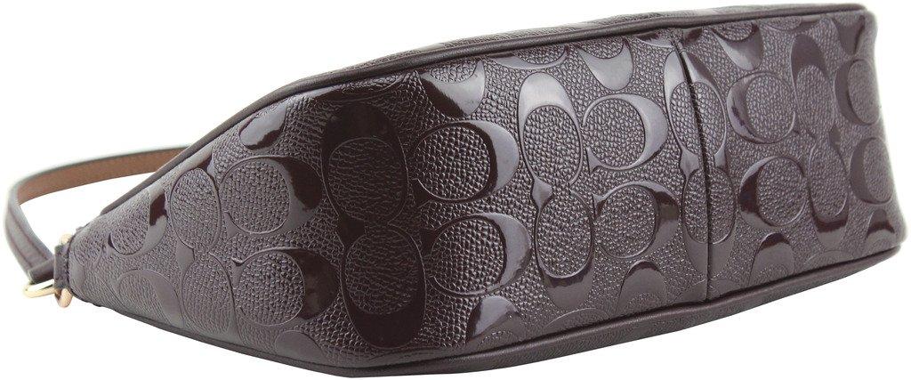 Coach Women's Signature Small Debossed Top Handle Crossbody Bag, Style F56518
