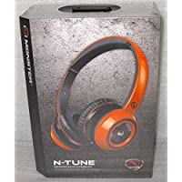 Monster Ncredible Ntune 128453 On-Ear Headphone, Juice Orange