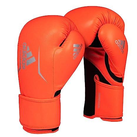 4d78fca603955 Amazon.com : adidas Womens Speed 100 Bag Gloves, Solar Red/Black, 8 ...