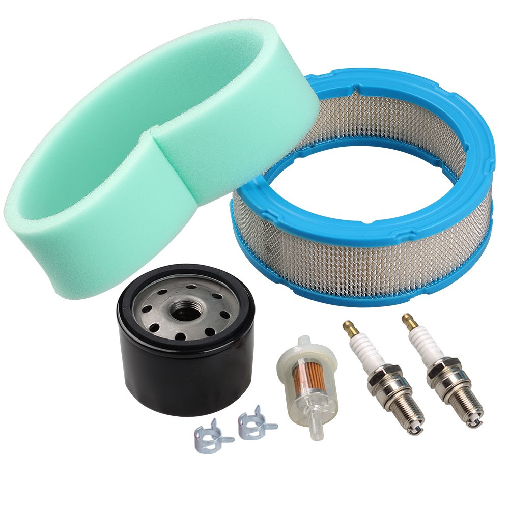 HIPA 394018S 272490S Air Filter 691035 Fuel Filter 492932S Oil Filter for Briggs & Stratton 392642 394018 271271 272490 Vanguard V-Twin 12.5-21hp